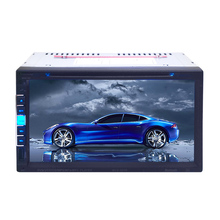 7 inch Double 2 Din Car Multimedia Player Car DVD Player Car Audio Stereo Bluetooth AM/FM/DVD/CD/MP4