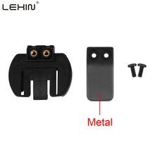 Free shipping 1 pcs Metal Clip Clamp Set Accessories for Clamp LX-R6/R4/R3 1200M Motorcycle Bluetooth Helmet Interphone Intercom