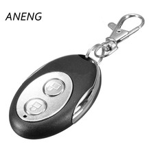 ANENG Universal 433mhz Garage Door Remote Control Presentation Car Gate Cloning Rolling Code Duplicator Opener Key Fob 2-cha(China)