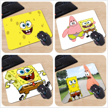 SpongeBob Squarepants Cute Funny Cartoon Personalized Mouse Pad Rectangle Rubber Durable Laptop PC Computer Gaming Mouse Mat
