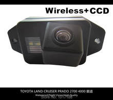 HD!! WIFI camera Wireless Car Rear View Camera CCD Chip For TOYOTA LAND CRUISER PRADO 2700 4000