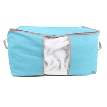 Nonwoven Fabric Folding Storage Bag Luggage Bags 60x42x36cm Home Storage Travel Organizer Reusable Clothing Bag Storage Bags
