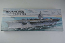 30CM Warship CVN-68 USS NIMITZ Aircraft Carrier Plastic Assembly Model Electric Toy XC80903(China)