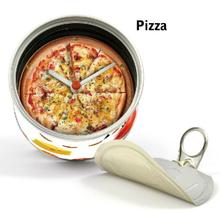 [In Stock] Pizza Magnetic Cheap Wall Clocks,Cheap Desk Clocks,Cheap Table Function Clocks in Free Shipping 2pcs Pack Design Mix