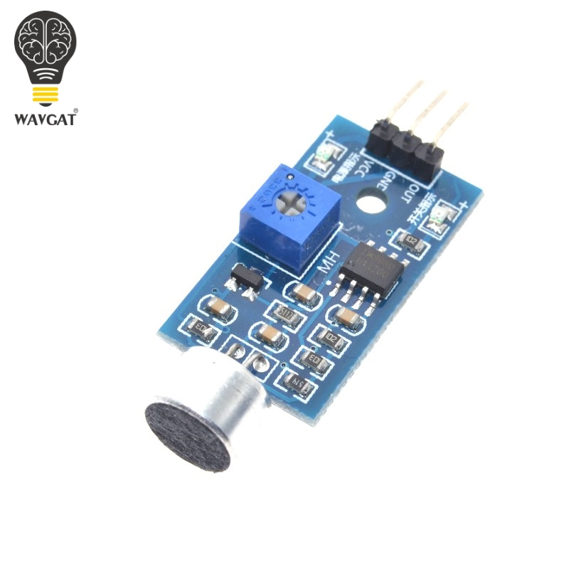 Free Shipping Selling Sound Detection Sensor Module Sound Sensor Intelligent Vehicle Arduino Drop Shipping Wholesale