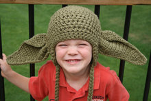 Inspired Star Wars Hat's, Crochet Yoda Hat, Star Wars Inspired Yoda Hat, Star Wars Kids Hats Halloween costume Photo Props