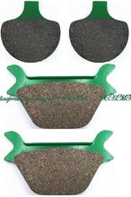Brake Shoe Pads Set for HARLEY FXLR Low Rider Custom / FXR Super Glide prior to 1994 / FXSTB Night Train prior to 1999