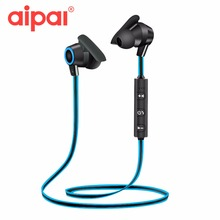 AIPAL Sports Bluetooth Earphone Wireless In-ear Headsets Stereo Sweatproof Earphone With Microphone Headphone For Xiaomi Iphone