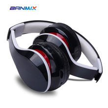 Buy Portable player bluetooth headphones BT4.1 stereo rich bass Bluetooth headset wireless headphones phones music earphone for $31.49 in AliExpress store