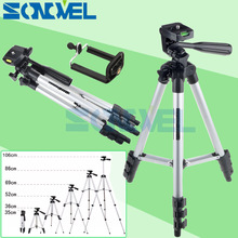WEIFENG WT3110A Aluminum Portable Camera Camcorder Tripod with Phone Holder for Canon Nikon Olympus Digital Camera cellphone