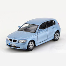 Simulation 1:34 KINSMART Toy Cars Models For Children, Pull Back, Diecast + ABS Doors Openable Car Toys / Brinquedos