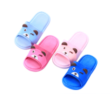 Unique Panda Indoor Slippers Bathroom Toddler Baby Little Kids Shoes for Girls Boys flip flop Beach Shoes zapatillas pantufas(China)