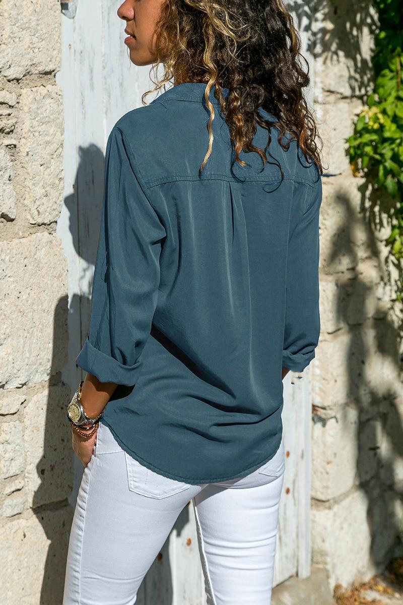 office blouse women plus size 5XL long sleeve blusas mujer de moda 2018 tallas grandes spring autumn shirt top women blouse6