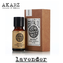 AKARZ Famous brand pure natural aromatherapy lavender essential oil acne ,Scar repair,Help sleep skin care slimming oil