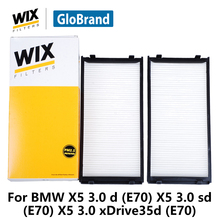 Buy WiX Containing carbon car cabin Filter WP9338 BMW X5 3.0 d, E70 X5 3.0 sd, E70 X5 3.0 xDrive35d, E70 auto part for $29.81 in AliExpress store