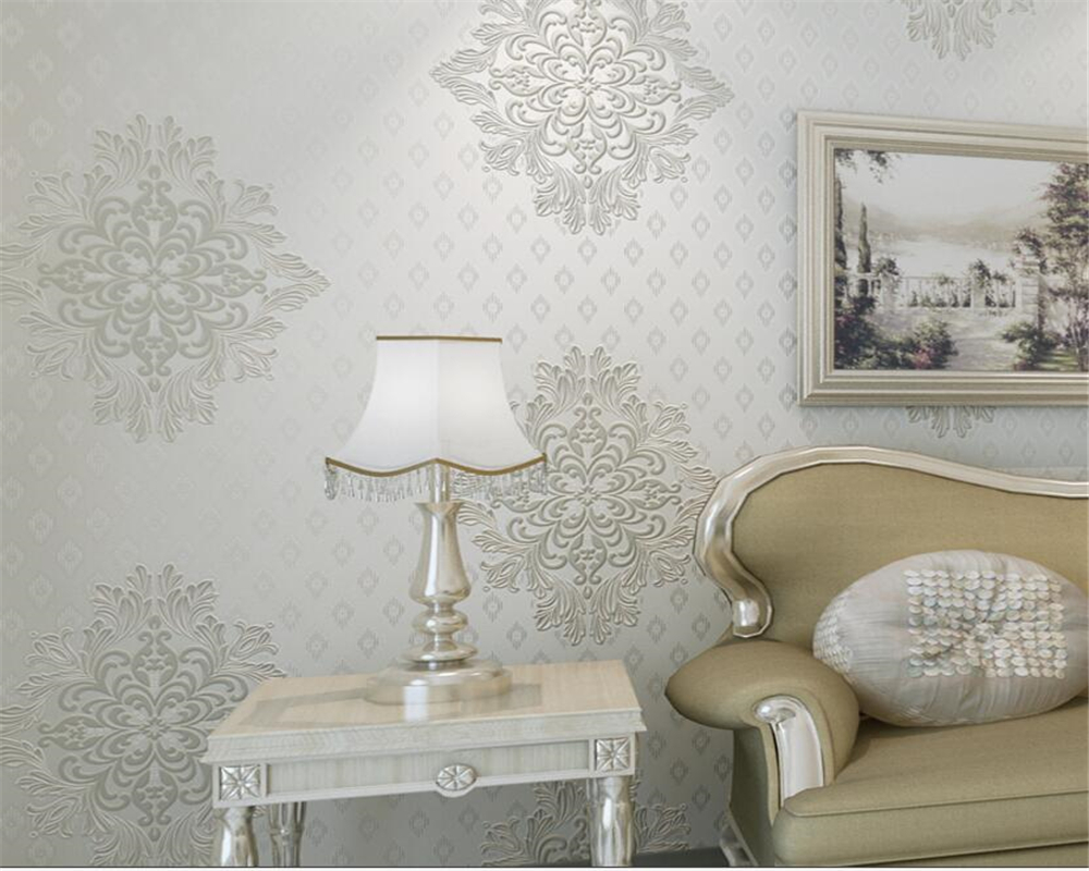 Beibehang wallpaper for walls 3 d European style wallpapers living room bedroom TV sofa background wall mural 3d wallpaper roll<br>