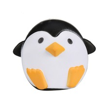 Cute Jumbo Squishy Penguin Animal Slow Rising Pinguino Scented Vent Charms Bread Cake Kid Toy Doll Phone Strap(China)