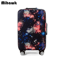 Elastic Galaxy Trolley Suitcase Cover For 18-32 inch Luggage Protective Protect Dust Bag Case Travel Accessories Supply Product(China)