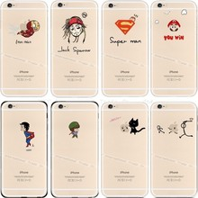 6 6S New Design Hard Back Phone Cover For Apple  iPhone6S For iPhone 6 6S Case Cases Mobile Cellphone Shell Super Man Best New