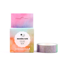 Fantasy Decorative Water Color Washi Tape Diy Tape Scrapbooking School Office Supply Stationery Tape