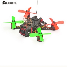 In Stock Eachine for Aurora100 100mm Mini Brushless FPV Racer BNF w/ F3 OSD 10A Dshot600 5.8G 25MW 48CH VTX RC Multicopter(China)