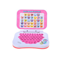 Kid Laptop Russian Language Learning Machine Education Toys Computers Russian Alphabet Pronunciation Computer(China)