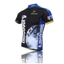 New Discovery Bike ciclismo Cycling ciclismo Jersey Sport Riding Breathable Bicycle Shirt Top Quick Dry S-3XL(China)