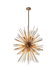 A1 Golden 12 retro personalit dandelion metal ornaments designer stainless steel ball process spherical geometry Pendant Lights