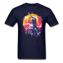 Printing Rad Unicorn Boys Gift's tshirts Offensice t shirt Online Store Men Green Clothing