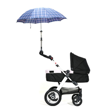 New Baby Kids Stroller Trolley Child Bicycle Sun Shade Umbrella Holder Bracket Keep The Baby Far Away From Sunshine And Raining
