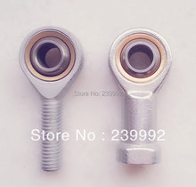 NEW 6mm male thread rod end  SA6T/K POSA6 GAR6UK right hand threaded ball joint rod ends
