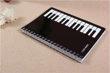 100 pcs the notes piano keyboard 32k notebook notepad diary music stationery