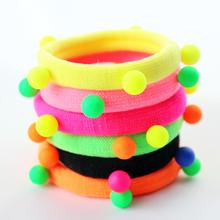 YWHUANSEN 20pcs/lot Candy color Elastic hair band Soft ponytail holder Nice hair tie hair wear 2017 hair accessories(China)