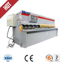 QC12Y 20x2500 Steel plate swing beam shearing machine and cutting machine(China)