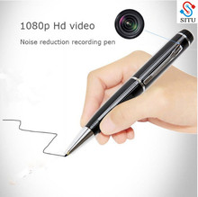 Sound recording pen portable high definition voice recording and video camera 1080P outdoor sports plug-in card camera mini came(China)