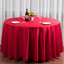 10pc Embroidered Table Cloth For Round Table Wine Red Coffee Purple White Gold Table Cover As Home Wedding Dinning Table Decor