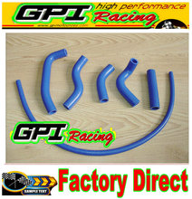 GPI silicone radiator hose FOR Kawasaki KX500 KX 500 1989-2004 99 90 91 92 93 94 95 96 97 98 99 00 01 02 03(China)