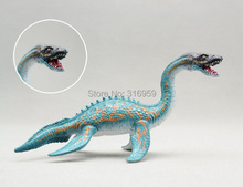 Plesiosaur  cartoon model to cognition animals world dinosaur  toys for children or as an ornament