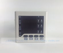Free shipping !!! ac voltage current meter led voltage and current display measuring current and voltage meters voltage ampere(China)