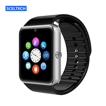SCELTECH Sport S08 Smart Watch Clock With Facebook Whatsapp Twitter Sync Notifier support SIM TF Card For Android Phone iPhone(China)