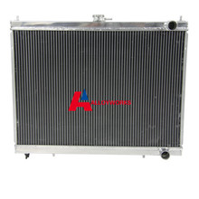 3 ROW CORE Aluminum Radiator FOR GT-R R34 Skyline GTR RB26DETT BNR34 BOLT-ON BEST HOT SALE Automobiles AUTO Replacement Parts