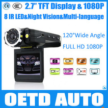 "Best sell CAR CAMERA K3000 8 IR LED IR Night Vision car vedio recorder Full HD 1080P 2.7"" display 120 wide angle car dvr"