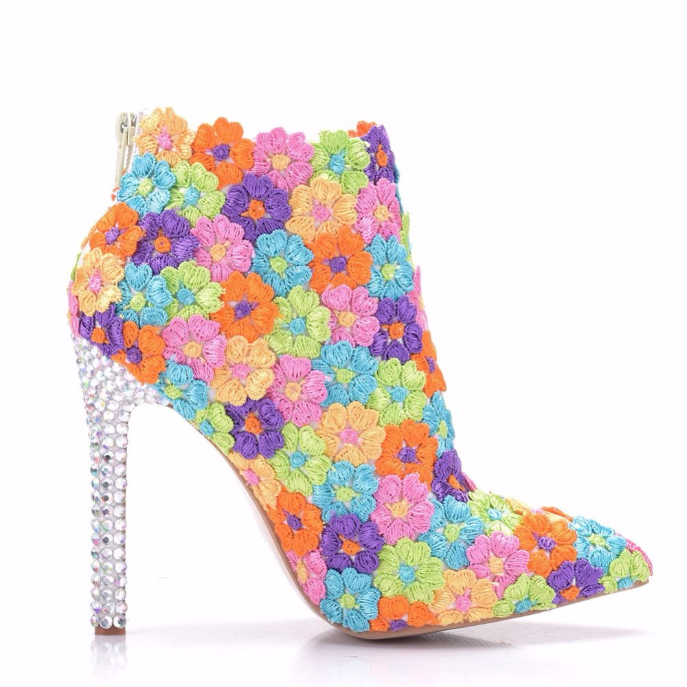 Detail Feedback Questions about Crystal Queen Multicolor Flower ... 5eacdb347566