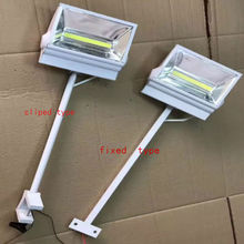 LED long spot light LED display light 220v 50w/ 70w long arm spotlight exhibition hall dedicated light show clip hook spotlights