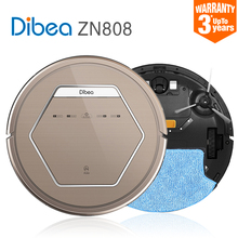 2016 Smart Robot Vacuum Cleaner for Home Sweeping Dust ultraviolet lamp Sterilize Eliminate mites Planned Clean mop Dibea ZN808