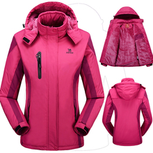 Winter women jacket thermal men coat for women's fashion jaqueta down Outerwear tourism jackets Waterproof Windproof couples