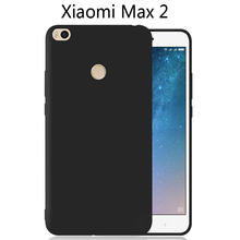 Xiaomi Mi MAX MAX2 Ultra-thin Clear and Matte Solid Candy color Case For Xiaomi MAX 2 Back Cover Protect Skin Silicon case