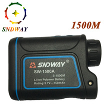 Buy SNDWAY 1500M Laser Rangefinder hunting telescope trena Laser Distance Meter measure tape laser range finder ferramentas for $83.51 in AliExpress store