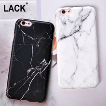 LACK Fashion IMD Marble Stone Case For iphone 6 Case For iphone 6S 7 7 Plus Classic Black White Marble Painted Phone Cases Cover