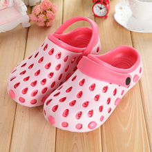 free Shipping women clog summer sandals beach garden shoes walking comfort hole Breathable shoes for women(China)